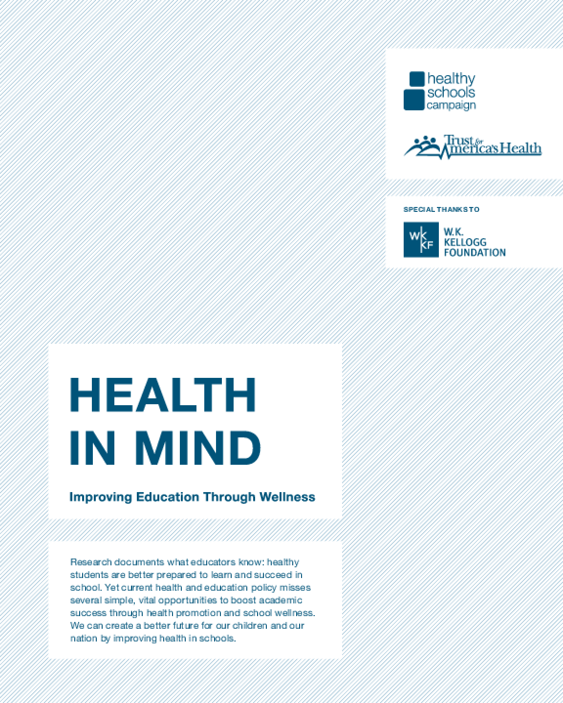 Health in Mind: Improving Education Through Wellness