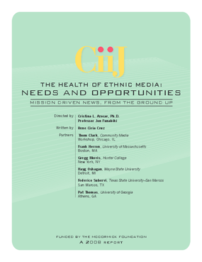 The Health of Ethnic Media: Needs and Opportunities