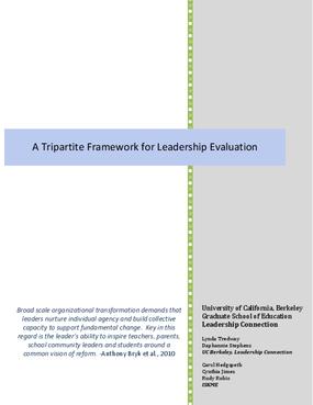 A Tripartite Framework for Leadership Evaluation