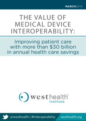 The Value of Medical Device Interoperability: Improving Patient Care with More Than $30 Million in Annual Health Care Savings