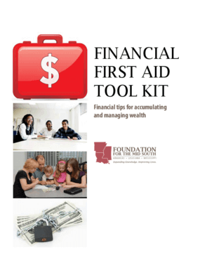 Financial First Aid Tool Kit: Financial Tips for Accumulating and Managing Wealth