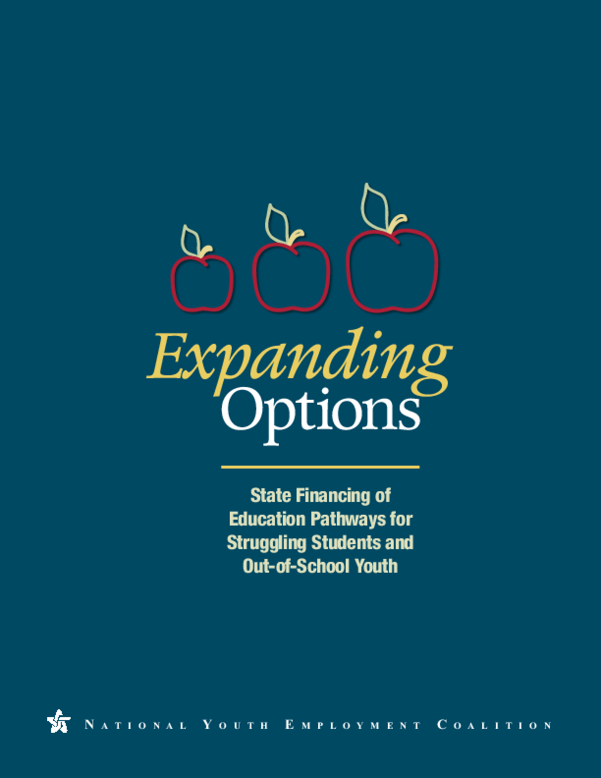 Expanding Options: State Financing of Education Pathways for Struggling Students and Out-of-School Youth