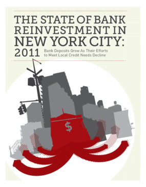 The State of Bank Reinvestment in New York City: 2011