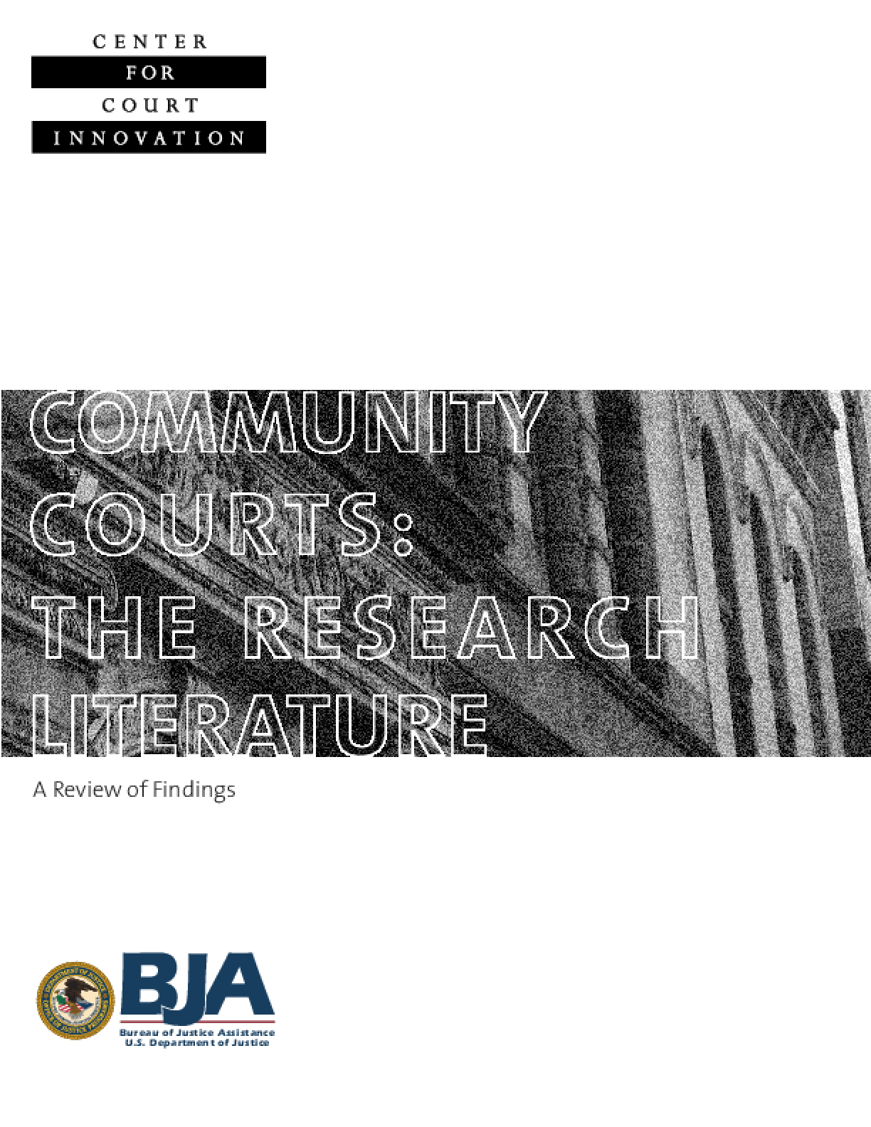 Community Court: The Research Literature