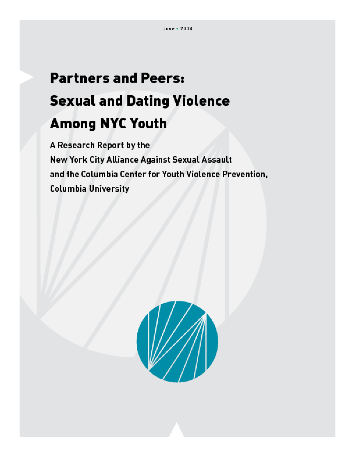 Partners and Peers: Sexual and Dating Violence Among NYC Youth