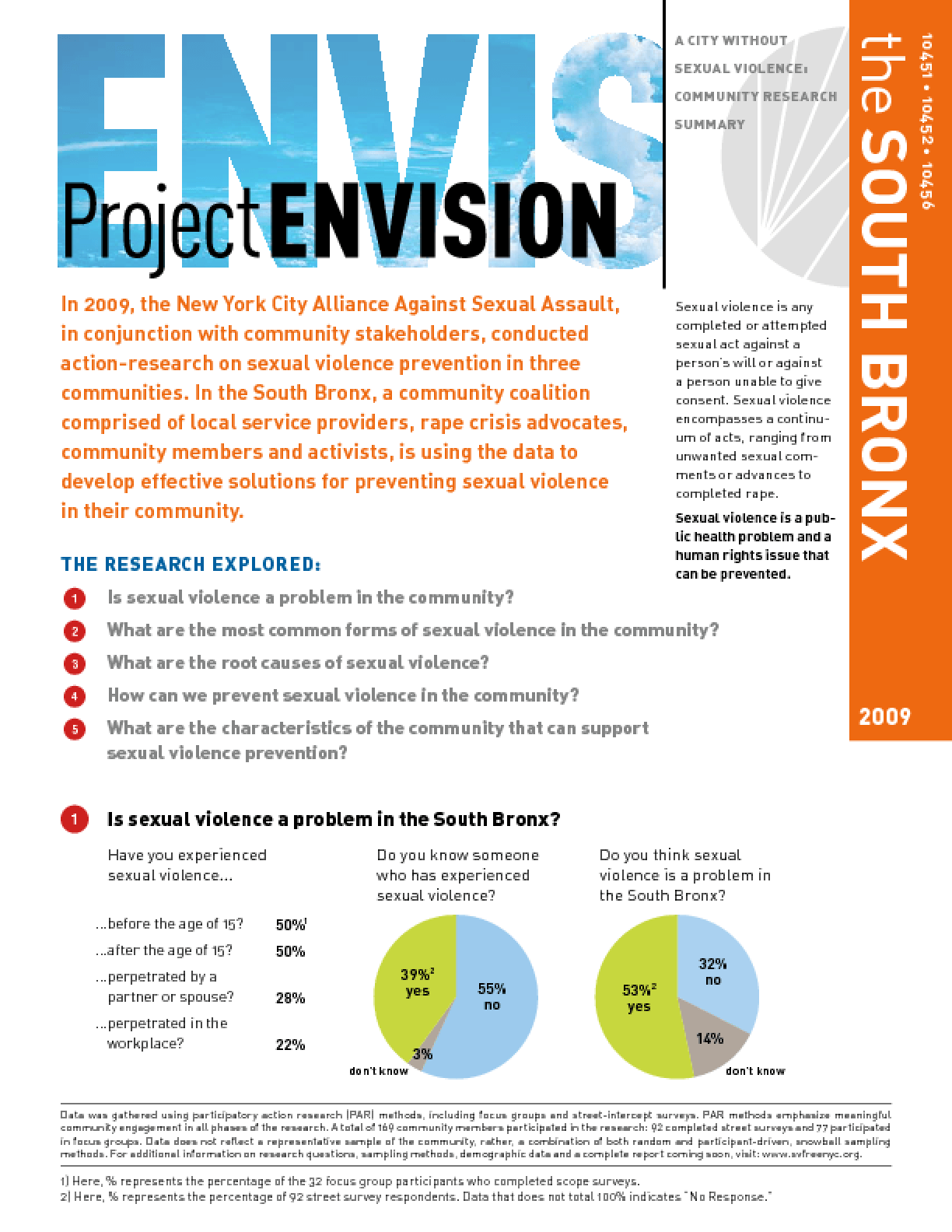 Project Envision: Community Needs Assessment - South Bronx