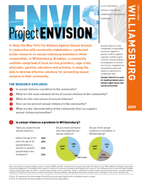Project Envision: Community Needs Assessment - Williamsburg, Brooklyn