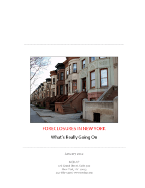 Foreclosures in New York: What's Really Going On