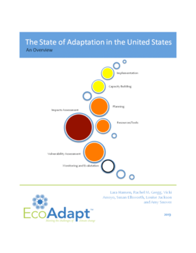 The State of Adaptation in the United States: An Overview