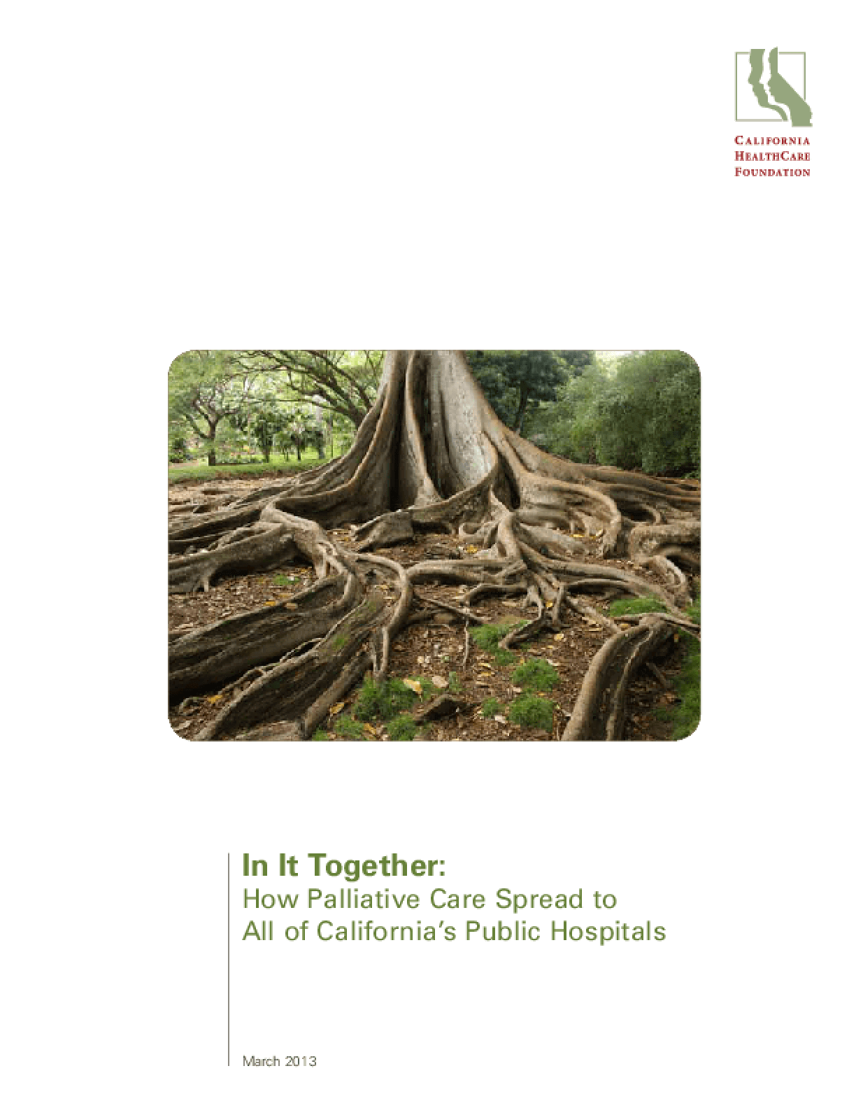 In It Together: How Palliative Care Spread to All of California's Hospitals