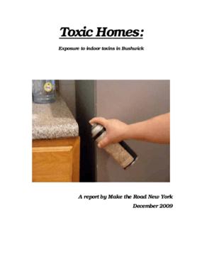 Toxic Homes: Exposure to indoor toxins in Bushwick