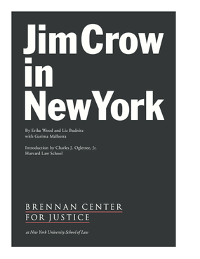 Jim Crow in New York