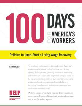 100 Days for America's Workers: Policies to Jump-Start a Living Wage Recovery