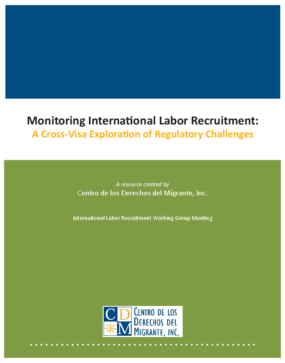 Monitoring International Labor Recruitment: A Cross-Visa Exploration of Regulatory Challenges
