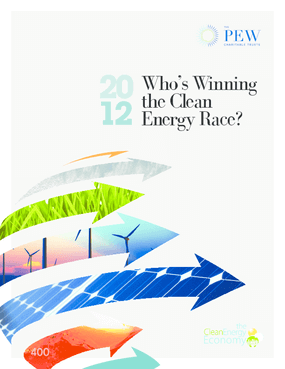 2012: Who's Winning the Clean Energy Race?