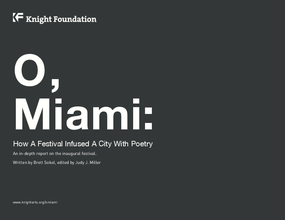 O, Miami: How a Festival Infused a City with Poetry