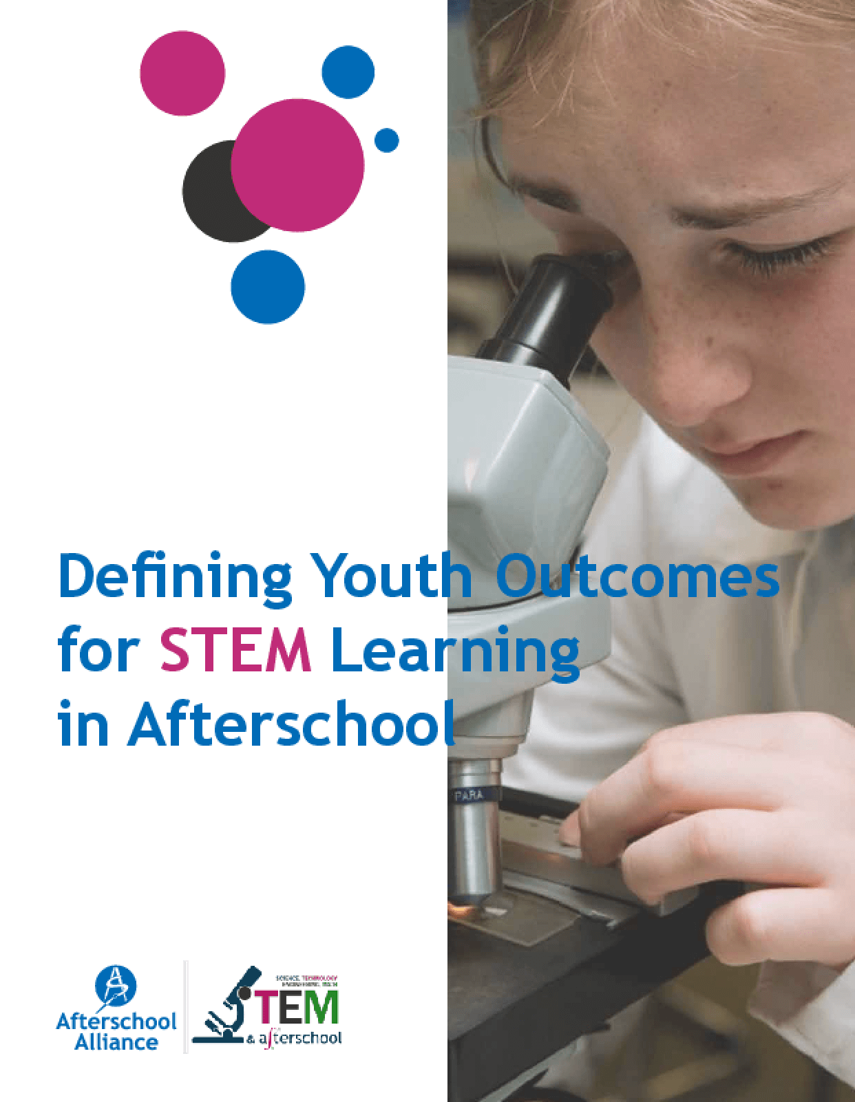 Defining Youth Outcomes for STEM Learning in Afterschool