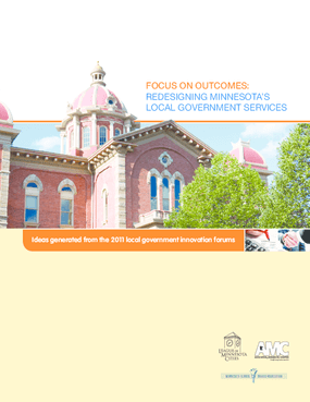 Focus on Outcomes: Redesigning Minnesota's Local Government Services