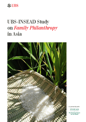 UBS-INSEAD Study on Family Philanthropy in Asia