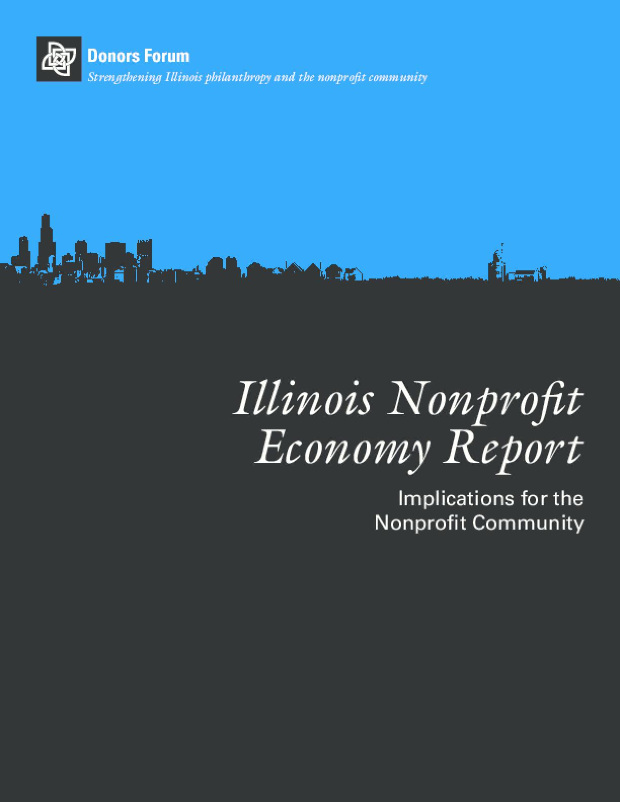 Illinois Nonprofit Economy Report