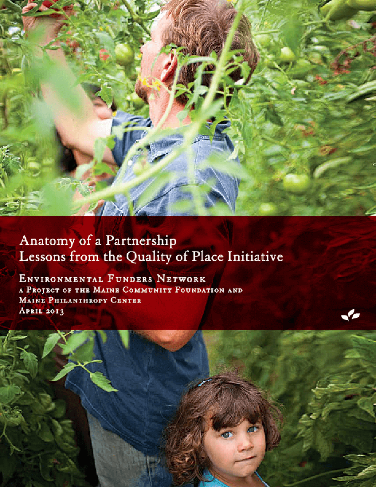 Anatomy of a Partnership: Lessons from the Quality of Place Initiative