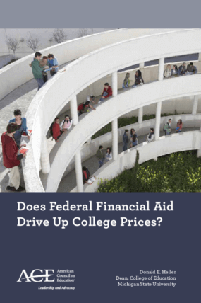 Does Federal Financial Aid Drive Up College Prices?