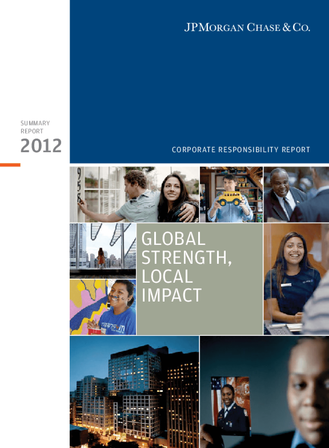 Global Strength, Local Impact: Corporate Responsibility Summary Report 2012