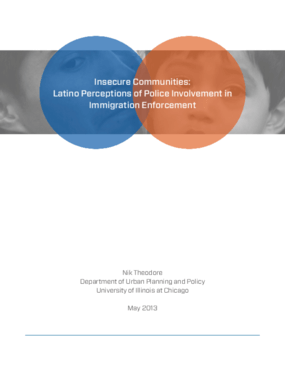 Insecure Communities: Latino Perceptions of Police Involvement in Immigration Enforcement