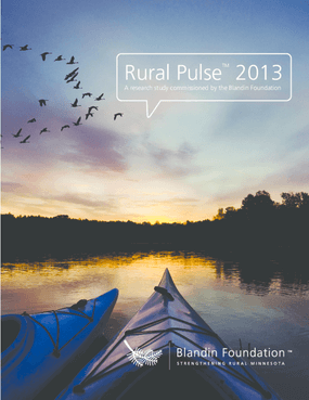 Rural Pulse 2013: Overview