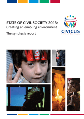 State of Civil Society 2013: Creating an Enabling Environment