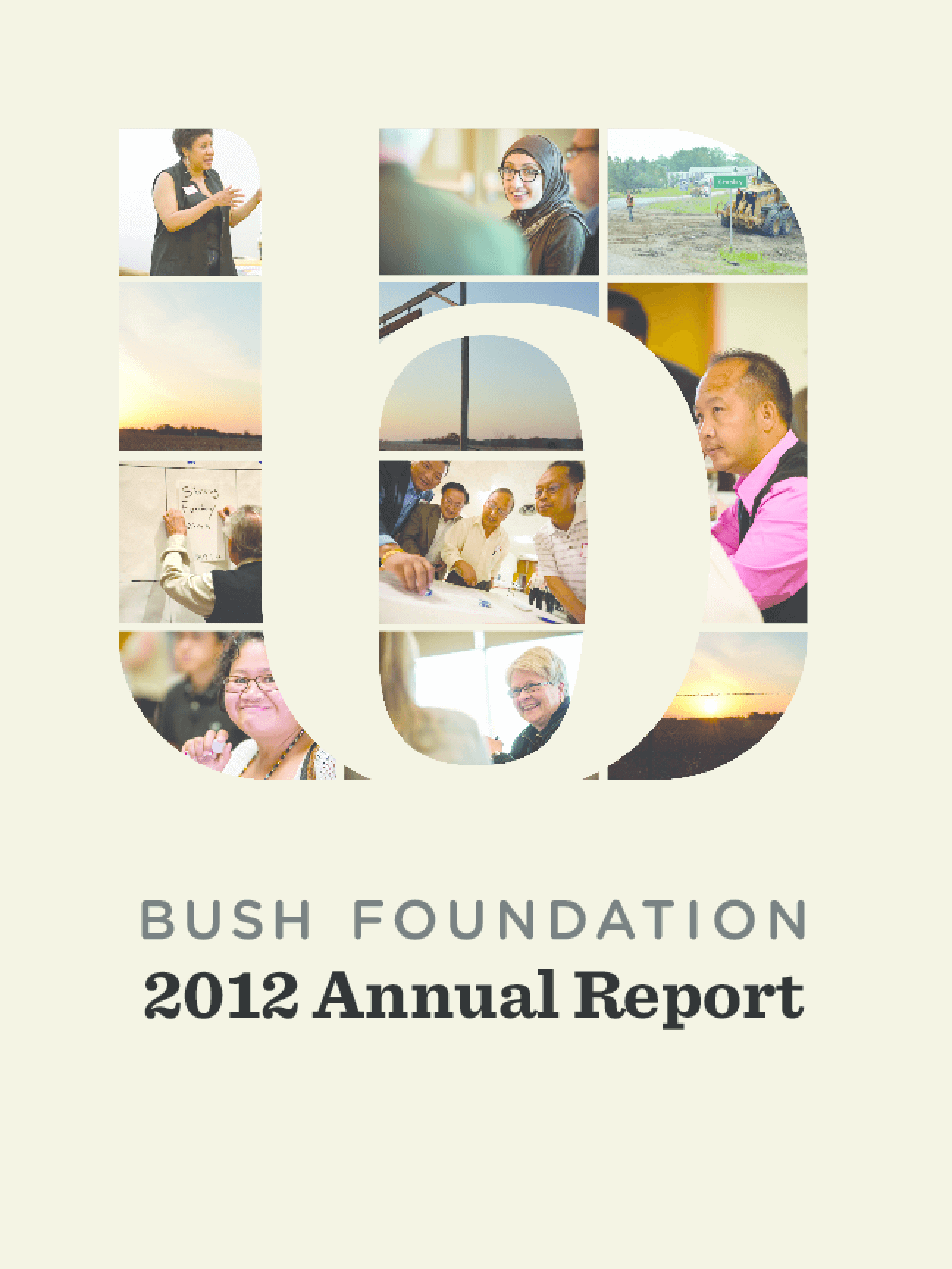 Bush Foundation 2012 Annual Report