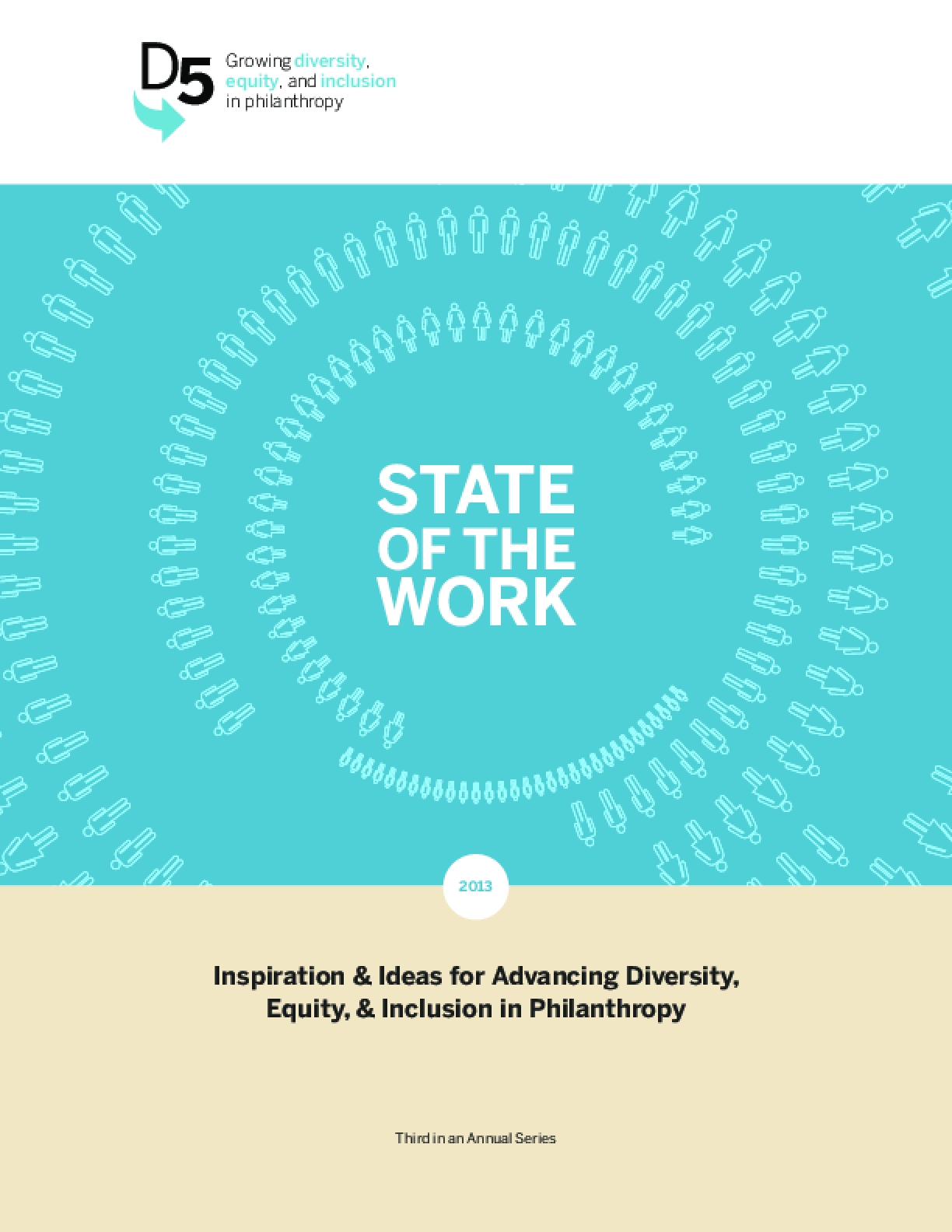 State of the Work: Inspiration & Ideas for Advancing Diversity, Equity, & Inclusion in Philanthropy