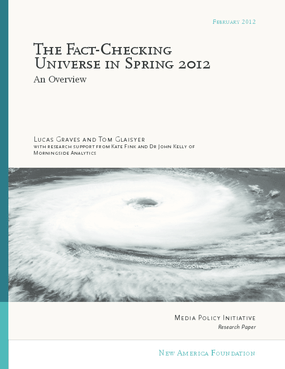 The Fact-Checking Universe in Spring 2012: An Overview