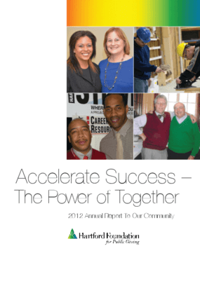 Hartford Foundation 2012 Annual Report