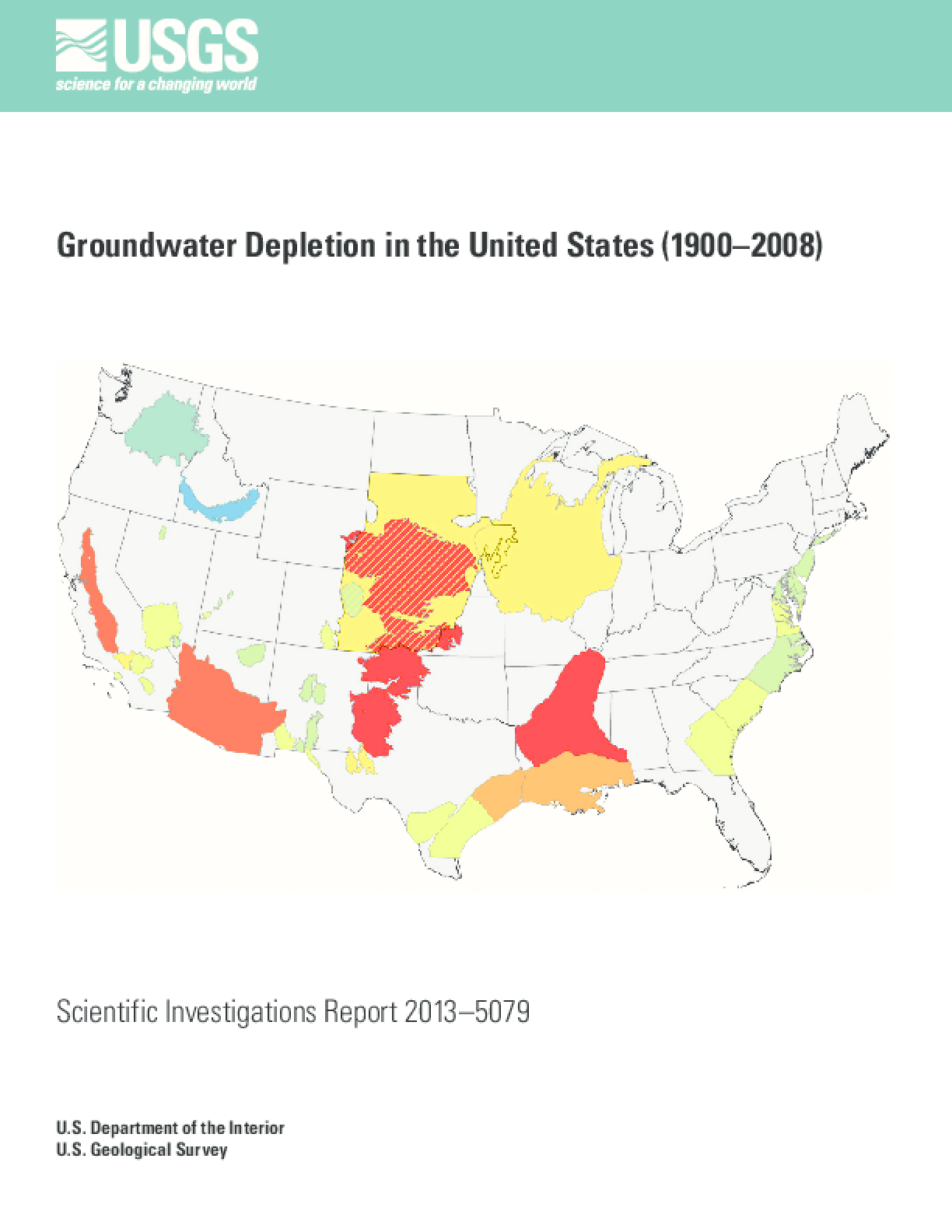 Groundwater Depletion in the United States (1900-2008)