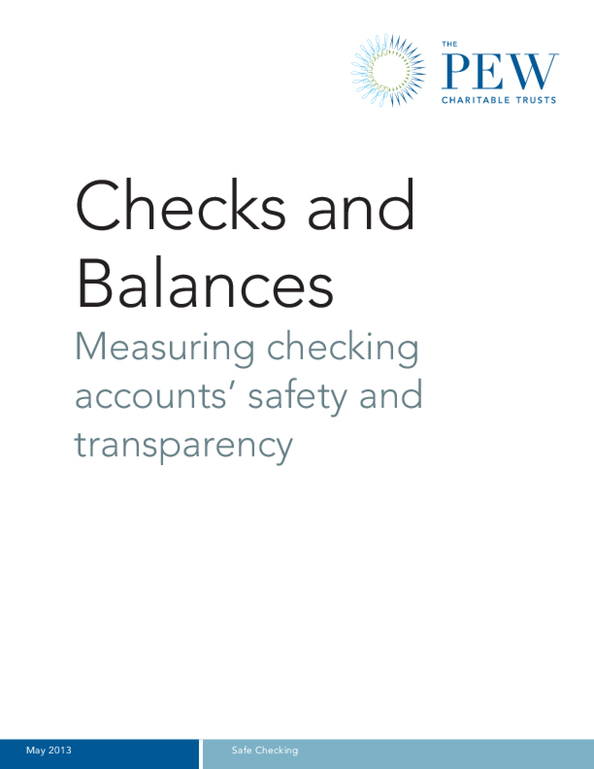 Checks and Balances: Measuring Checking Accounts' Safety and Transparency
