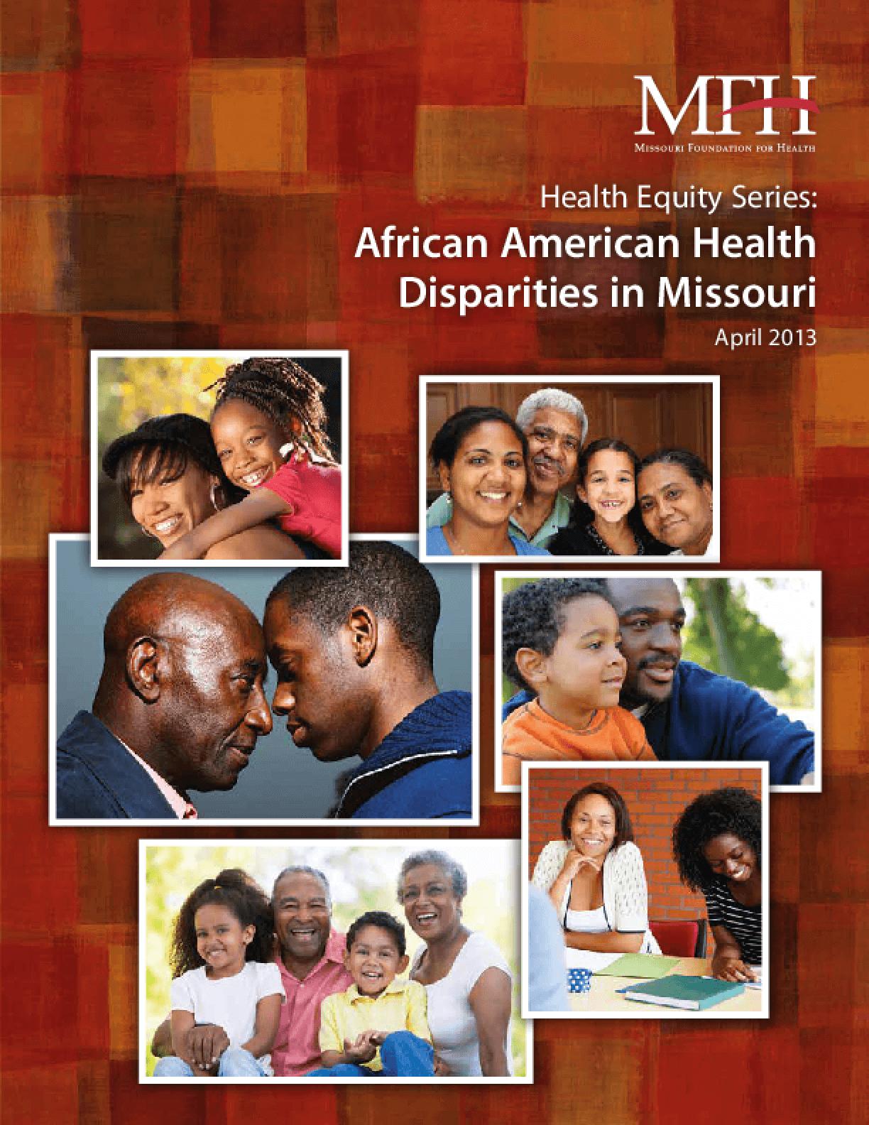 Health Equity Series: African American Health Disparities in Missouri