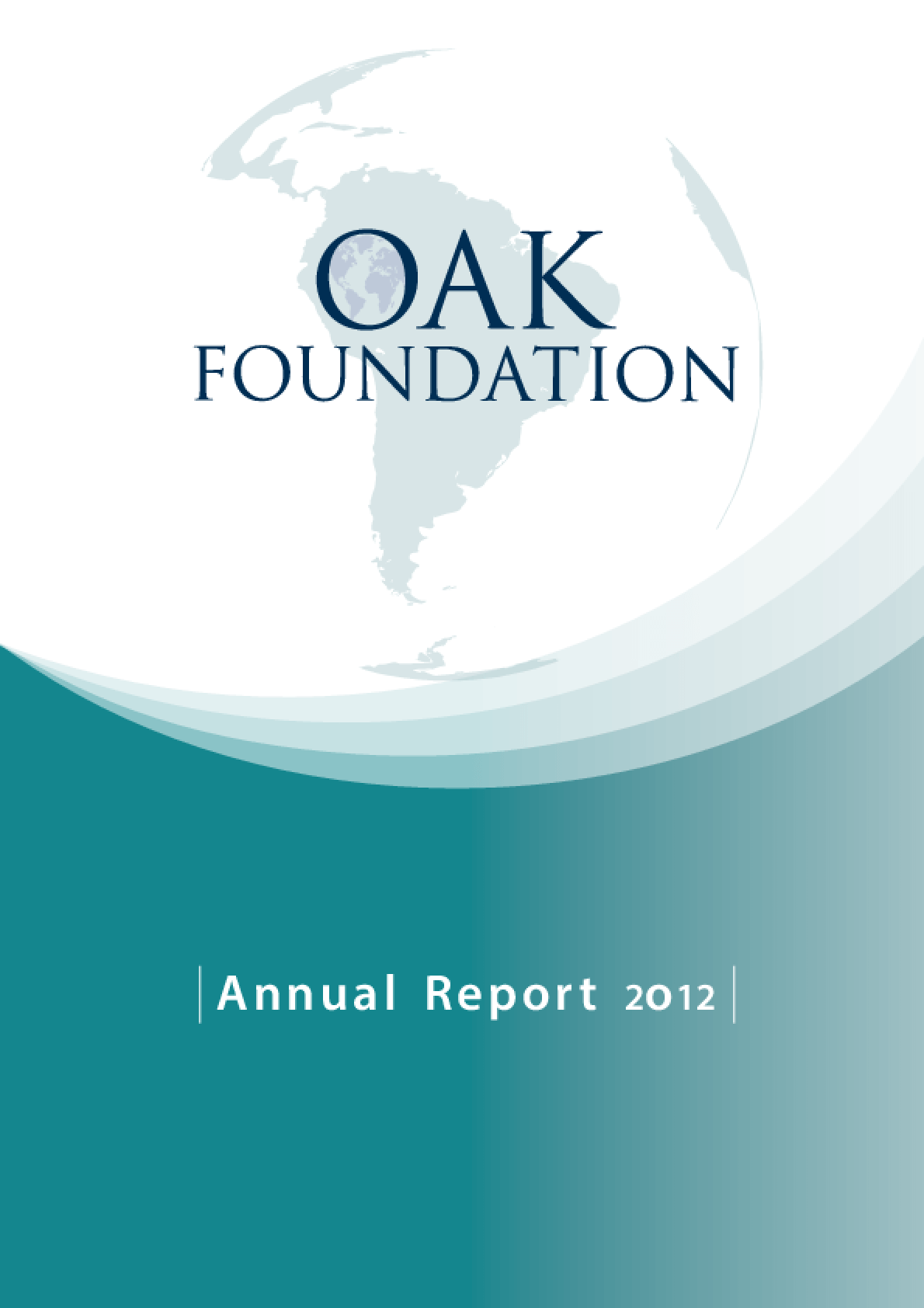 Oak Foundation Annual Report 2012