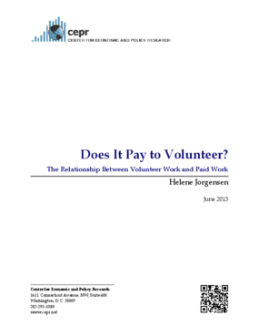Does It Pay to Volunteer? The Relationship Between Volunteer Work and Paid Work