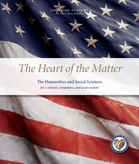 The Heart of the Matter: The Humanities and Social Sciences for a Vibrant, Competitive, and Secure Nation