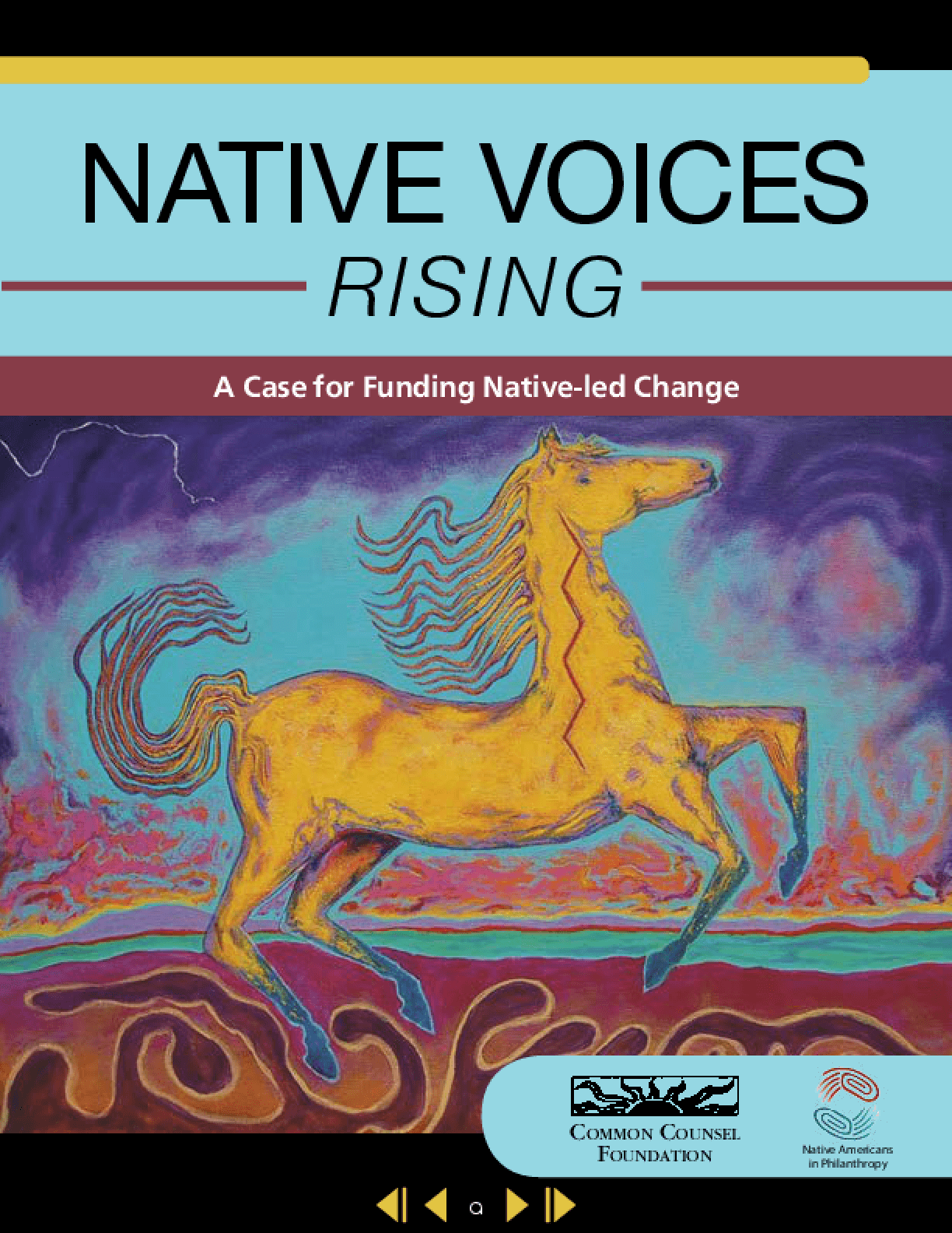 Native Voices Rising: A Case for Funding Native-led Change