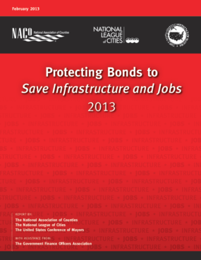 Protecting Bonds to Save Infrastructure and Jobs