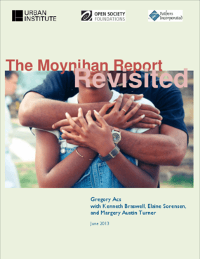 The Moynihan Report Revisited