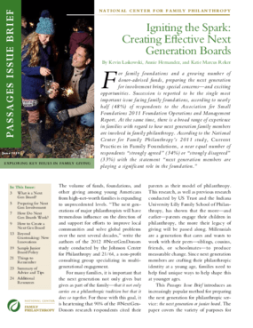Igniting the Spark: Creating Effective Next Generation Boards