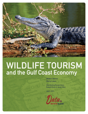 Wildlife Tourism and the Gulf Coast Economy