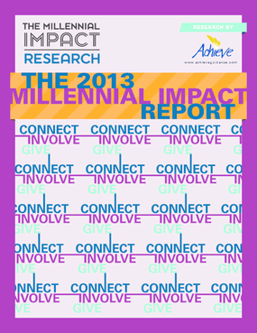 The 2013 Millenial Impact Report