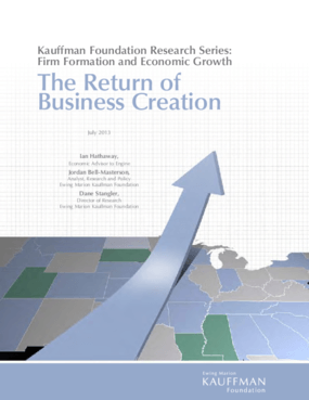 The Return of Business Creation