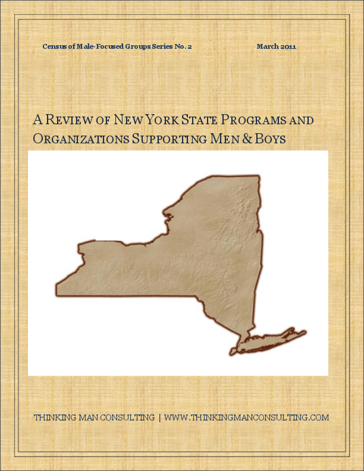 A Review of New York State Programs and Organizations Supporting Men and Boys