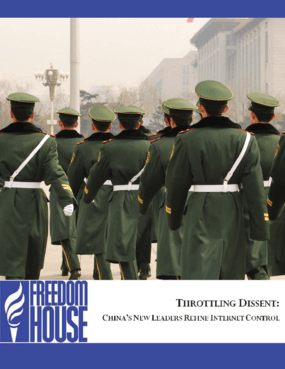 Throttling Dissent: China's New Leaders Refine Internet Control