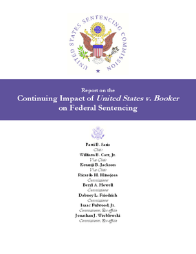 Report on the Continuing Impact of United States v. Booker on Federal Sentencing